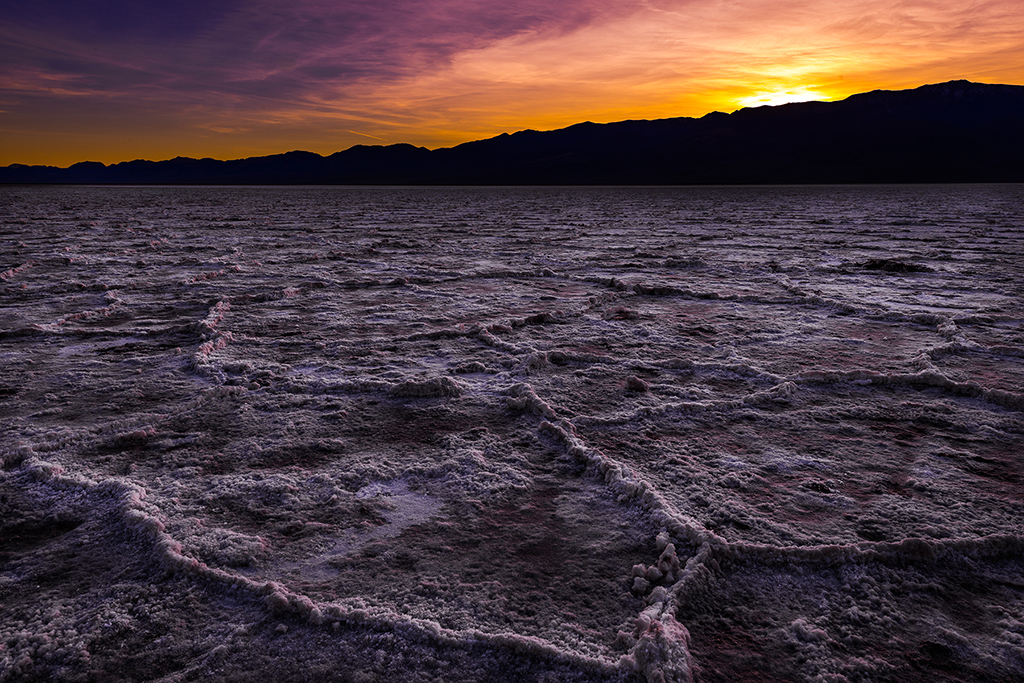 Badwater Basin Sunset