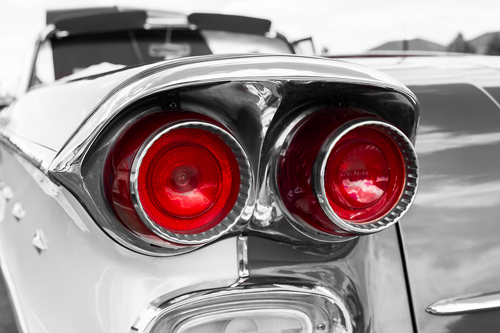 1958 Pontiac Rear Lights