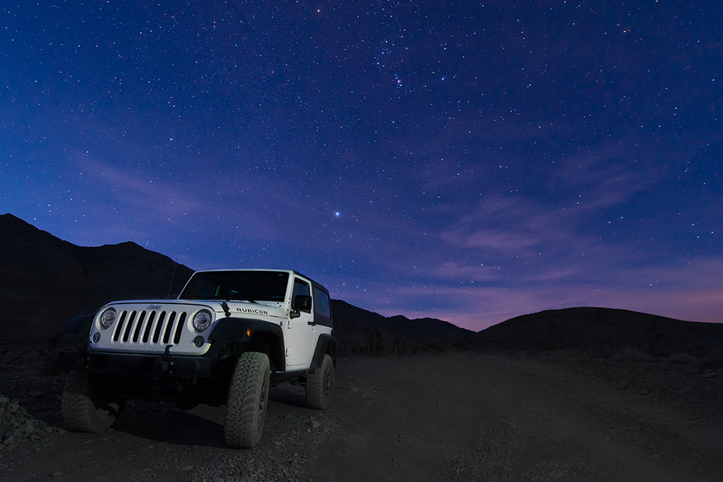 Rubicon in Death Valley
