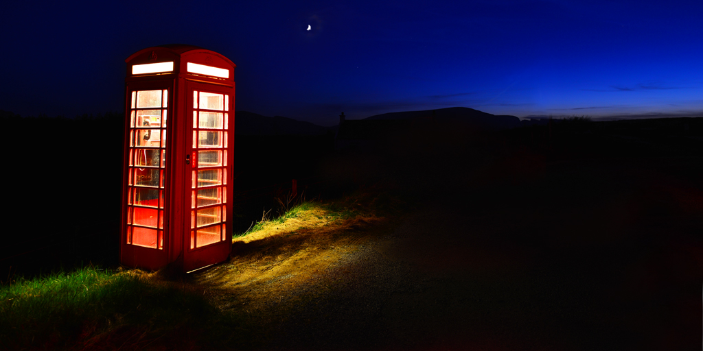 The Phone Box at the End of the Universe