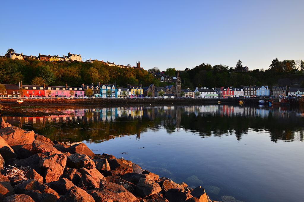 Sunrise in Tobermory