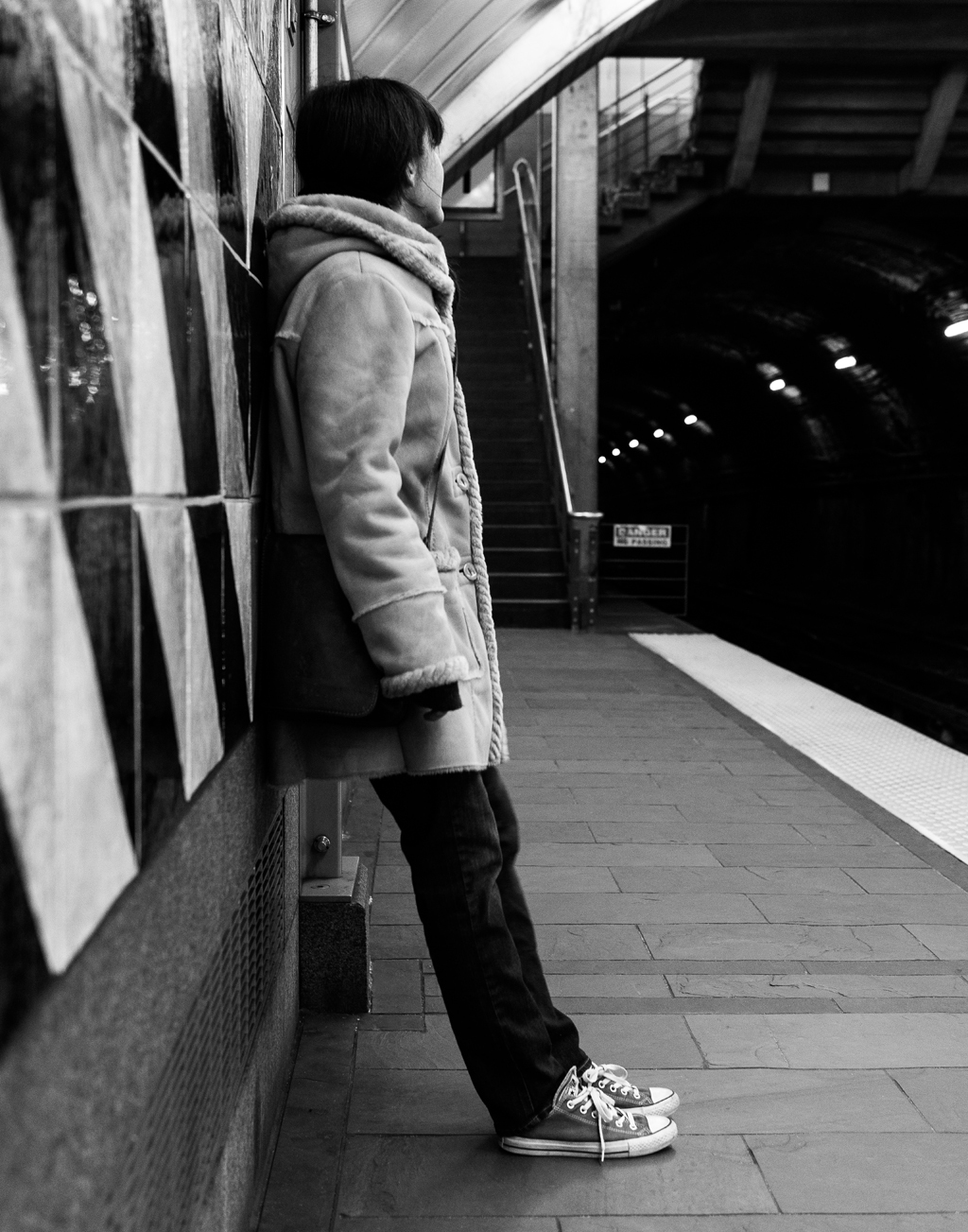 Waiting on the T
